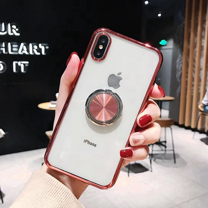 Case For iphone XS Max iphone XR XS X 10 Magnetic Car Holder Coque Cover For iphone 6s 6 s plus iphone 8 7 plus Case Fundas XR in Fitted Cases from Cellphones Telecommunications