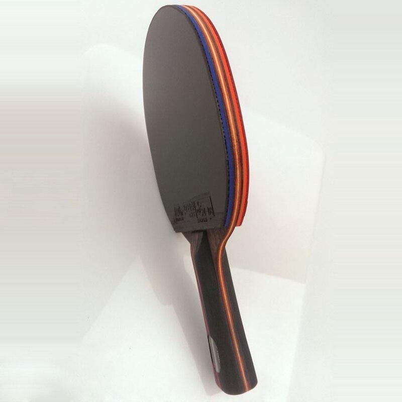 Lemúria DIY WRB 7.6 fibra de carbono raquete de tênis de mesa dupla face espinhas-em borracha tênis de mesa FL ou CS ping pong