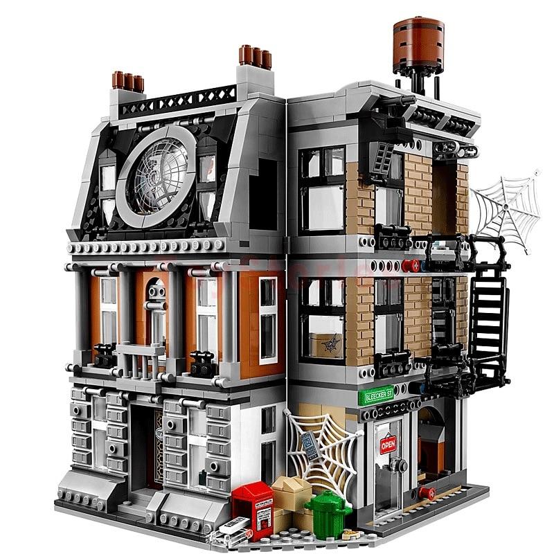 Lepin 07107 Super Hero Series The Sanctum Sanctorum Showdown Set Compatible legoings Building Blocks Bricks for Kids Education sanctum