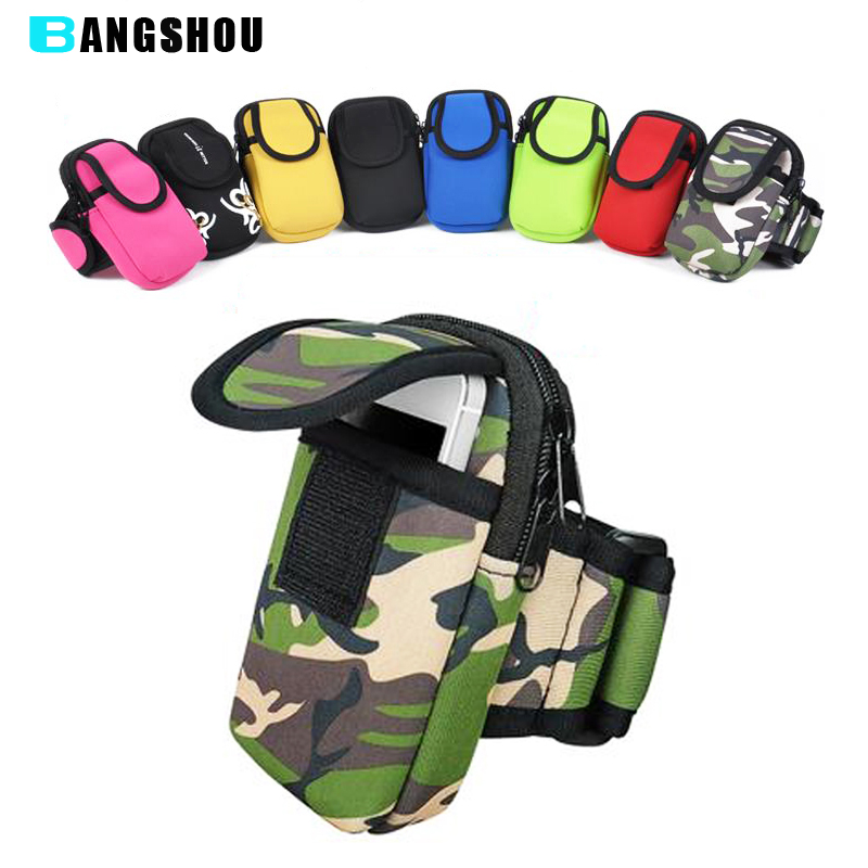 Running Arm Bag Wrist Hand Sport Case Band Pouch For Huawei Mate 8 Nexus 6p P9