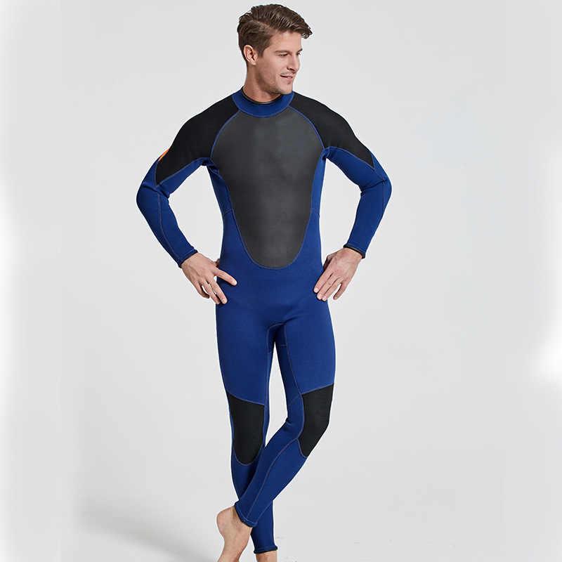 SBART 3 MM Neopreen Dik Materiaal Koude-proof Lin Tai Duiken Dienen lange Mouw Broek Anti kwallen Mannelijke snorkelen zwemmen Pak
