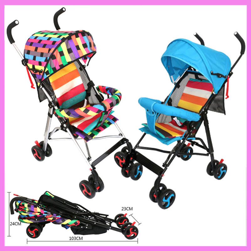 Four Season Portable Folding Baby Strollers Travel System Baby Pushchair Buggy Pram 0~3Y  buck open season folding skinner b0546bks