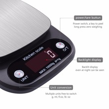 New 10kg/g LCD Digital Electronic Kitchen Scale