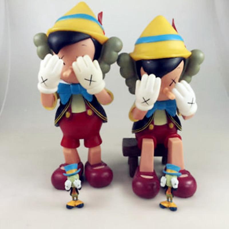 1c858349 KAWS Pinocchio Companion Jiminy Cricket Box Set New Medicom S159-in Action  & Toy Figures from Toys & Hobbies on Aliexpress.com | Alibaba Group