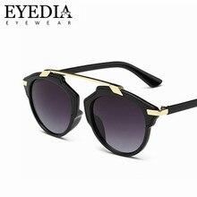 Nova Marca Projetado Mulheres Proteção UV400 Gradiente Óculos De Sol Dos  Homens Do Espelho Azul Óculos de Sol Oculos de sol Tons. 8d08936a44