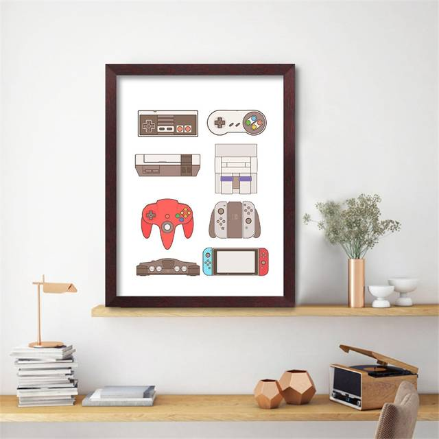 Controllers Canvas Painting Wall