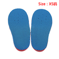 An Pair of children orthopedic insoles EVA foot flat foot Varus O type Legs/ X corrective insole XS/S/M