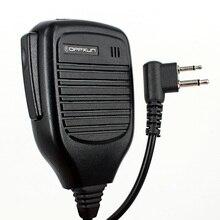 2 Pin для Motorola радио Ручной Динамик микрофон Микрофон для GP300 GP88 GP88S GP2000 GP68 CP040 CP200 P450 для HYT рация