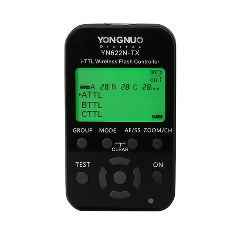 I-TTL-Wireless-Flash-For-Transmitter-Controller-YONGNUO-YN-622N-TX-HSS-1-8000s-For-Nikon