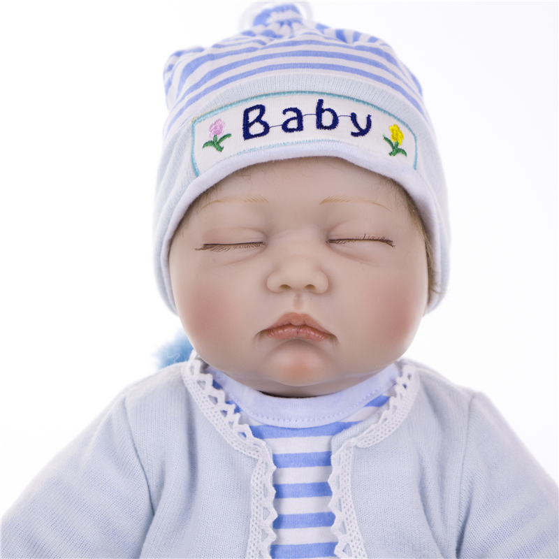"Image 2 - KEIUMI 22"" 55cm Bebes Silicone Reborn  Baby Dolls Toys Cloth Body Boy Toddler Babies Newborn Dolls For Kids Best Playmate-in Dolls from Toys & Hobbies"