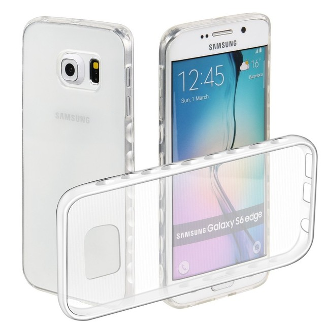 5a746be0c73 Coque Hoesjes For Samsung Galaxy S6 Edge Plus S6Edge + S 6 Case Cover Soft  Clear Shell Cases Etui Capinhas Fundas Capa Carcasa