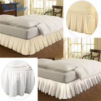 Lace Princess Bedspreads Without Bed Surface Elastic Band Bed Skirt Queen Size 150x200cm 37cm Height Bedspread Drop Shipping