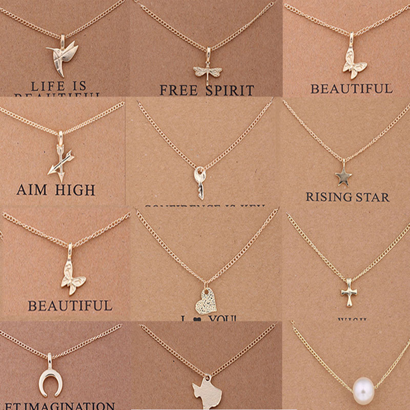 US $0.77 21% OFF Sale 2017 Sparkling good lucky Pendant necklace Clavicle Chains Statement Necklace Women Girls Fashion Jewelry-in Pendant Necklaces from Jewelry & Accessories on Aliexpress.com   Alibaba Group