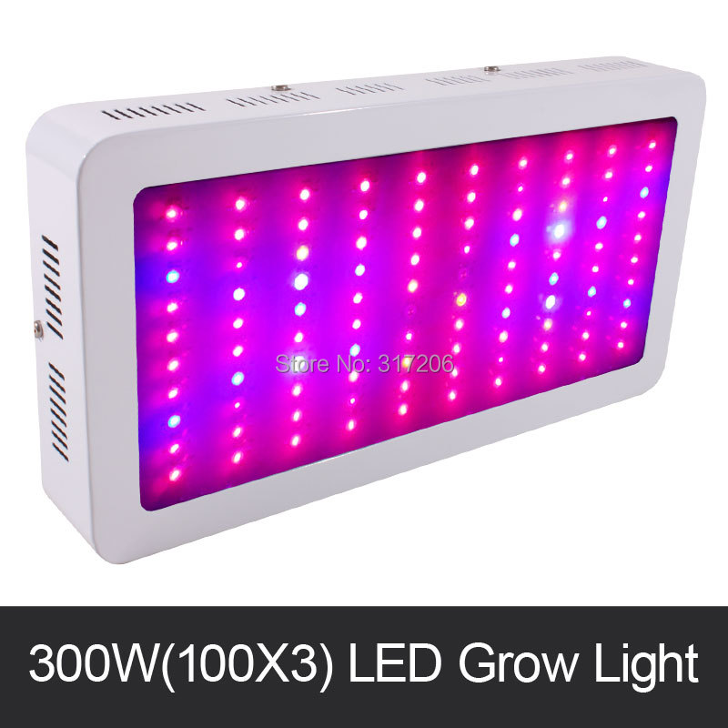 freeshiping 300 watt led grow light spectrum 100x3w 89264