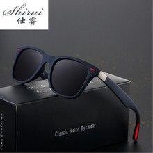 2019 Top Sell Well Classic Polarized Sunglasses Brand Design Men Women Driving Square Frame Sun Glasses Male Goggle UV400