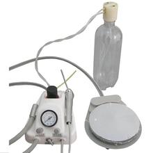 משלוח חינם מעבדת שיניים ציוד שיניים נייד אוויר טורבינת יחידה 4 חור
