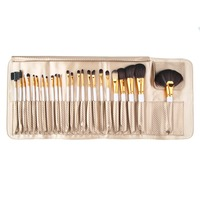 24pcs/set Pro Makeup Brushes Set Powder Foundation Eyeshadow Eyeliner Lip Brush with Bag HOT Drop Shipping