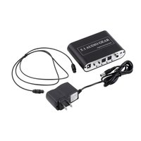 SPDIF/Coaxial Digital DTS/AC3 5.1/2.1CH to Analog Audio Decoder Converter 51A