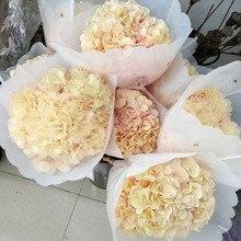 Консервированные сухие цветы гортензии Свадебные вечерние украшения для дома искусственные цветы букет
