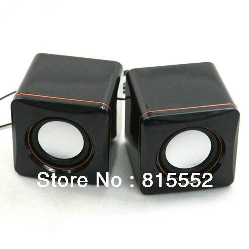 Wholesale! G302 Usb Dual Mini Notebook Computer Speaker Black Color