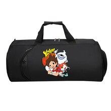 Men Travel Bag Large Capacity Duffle Handbag Shoe Pocket Wee