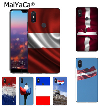 MaiYaCa Latvia Netherlands-Flag Unique phone case for xiaomi mi 8se 6 note2 note3 redmi 5 plus note 4 5 cover image