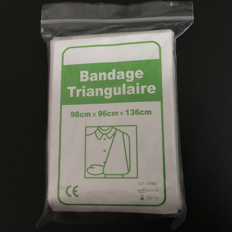 new badnage medical burn dressing bandage triangular first aid kit wrap bandage fracture fixation emergency bandage wound care medical orthopedics fracture macromolecule fixed support first aid assula for animal