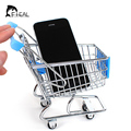 Mini Supermarket Handcart Shopping Utility Cart Mode Storage Toy Child Shopping Cart Toy Organizer