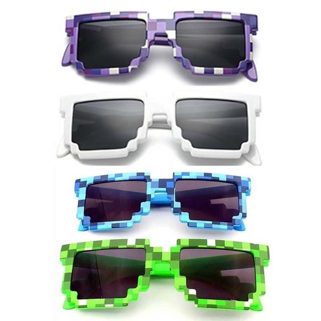 4 Colors Fashion Minecraft Sunglasses