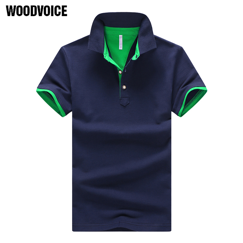 Woodvoice Brand   Polo   Shirts Men Summer Short Sleeve   Polo   Shirts Breathable Casual Camiseta Cotton Camisa   Polos   Homme Shirts Male