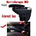 Для MorrisGaragesMG3 mg3 подлокотник коробка для хранения содержимого центрального магазина с подстаканником пепельница USB интерфейс продукты 2007-2016