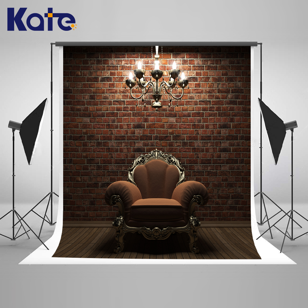 Kate 8X8FT Interior Vintage Wedding Background Wood and Chandelier Solid Brick Wall Wedding Photo Large Size Seamless Photo customize hot tub cover bag and spa cap size 244 x 244 x 30 5cm 8 ft x 5 ft x 12 inch any shape and size is avaliable