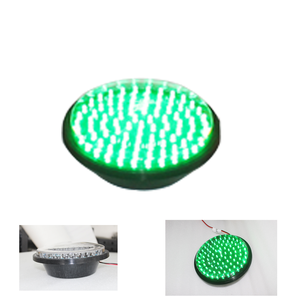 Traffic Signal Light Module 200mm Diameter 8 Inch Green Go Sign Road Safety Light DC 12 V Cheap LED Cluster