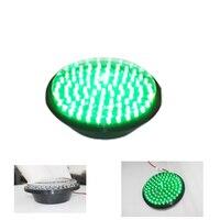 Traffic Signal Light Module 200mm Diameter 8 Inch Green Go Sign Road Safety Light DC 12 V Cheap LED Cluster