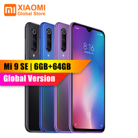 Global Version Xiaomi Mi 9 Mi9 SE 6GB 64GB Snapdragon 712 AMOLED Pocket Size Big Picture 48MP AI Triple Camera Smartphone