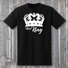 His Queen Her King Shirts Matching T-shirts King and Queen Tshirts King Queen Couple T-Shirts