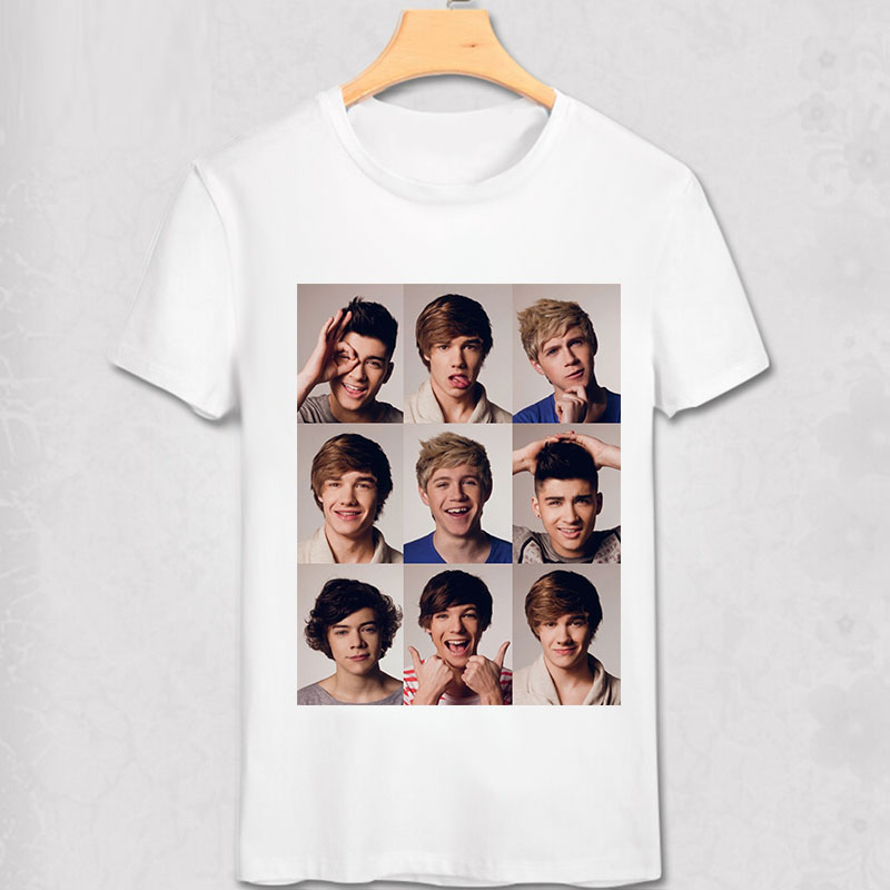 One Direction T πουκάμισο Louis Tomlinson Niall Horan Liam - Ανδρικός ρουχισμός - Φωτογραφία 4