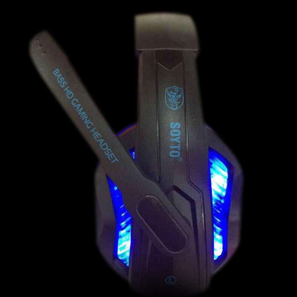 SOYTO SY711MV originaal juhtmega kõrvaklapid Gaming kõrvaklapid LED - Kaasaskantav audio ja video - Foto 3