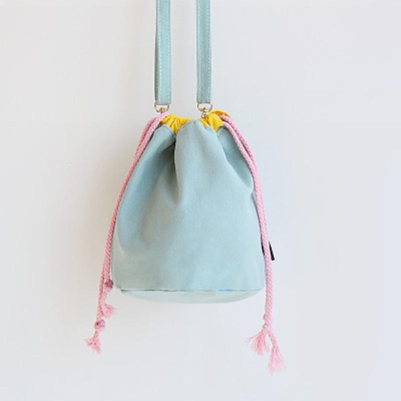 Canvas Bags, Rope Bags, Bucket Bags Skew Across Small Packets.YF020
