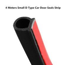 Petite bande de joint de porte de voiture D 2 3 4 mètres disolation phonique pour la voiture D forme 3M joint de porte Auto joints en caoutchouc