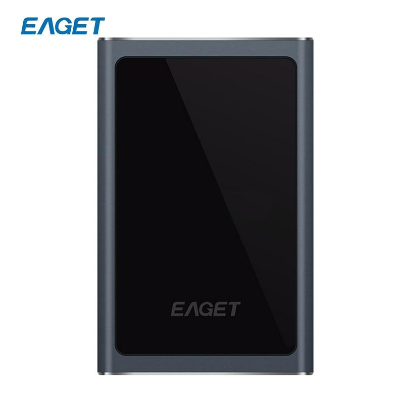 Original EAGET G90 1TB 500GB USB 3 0 High Speed Ultra thin Extreme Fashion Full Metal