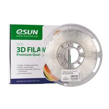 ESUN eflex TPU Филамент Материал 1 кг 2.2lb катушки 3D-принтеры расходных материалов природного полупрозрачный Материал для заправки зажигалок