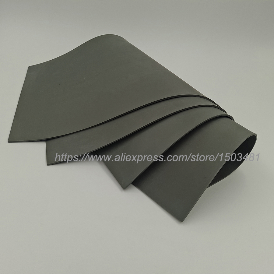 1pcs  Laser Rubber Sheet Trodat  297*210*2.3mm   A4 Size  Dark Grey  For Laser Engraving Machine  Free Shipping