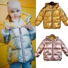 Bambini giacche per le ragazze con cappuccio primavera inverno caldo e casual per bambini bambino Giacca & Outwear bambino del bambino dei ragazzi del cappotto 3 5 8 anni di età