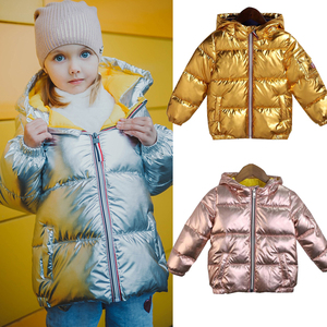 Image 1 - kids jackets for girls hooded spring winter warm and casual children baby Jacket&Outwear toddler boys coat 3 5 8 years old