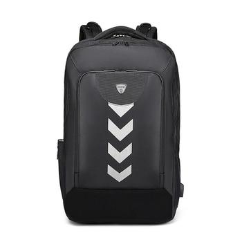 Fashion Men Backpack USB 17inch Computer Laptop Backpack Big Multifunction Waterproof Backpack School Bags For Teenager Mochilas