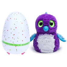 Creative Dinosaur Egg Interactive Cute Fantastic Hatching Egg with Plush Animal Novelty Gag Toys Growing Dinosaur