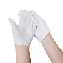 d79f486f6 1 زوج الأبيض الترطيب الجوارب قفازات الرطوبة كريم الرعاية اليد قدم السلس  لينة الجمال العناية باليدين Eco-صديق سبا قفازات