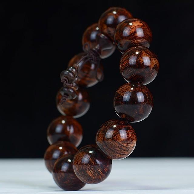 Rosewood Buddhist Prayer Bracelet