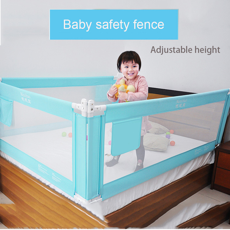 Baby Bed Fence Safety child Barrier for baby Crib Rails ...